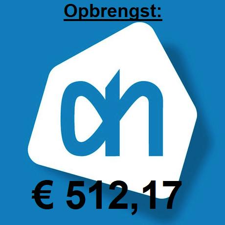 Wederom geweldige opbrengst Albert Heijn Sponsor actie!