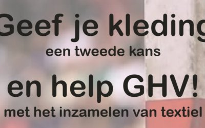 Help GHV – Geef je kleding een tweede kans!