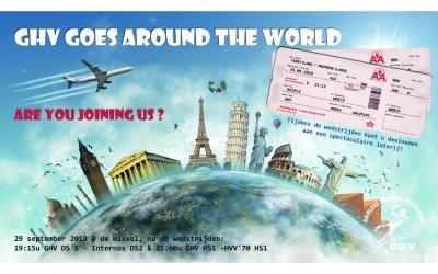 29 September: Trip Around the World Party + wedstrijden